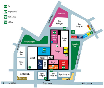 Greenhills shopping center mallmap