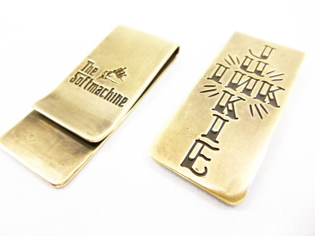 SOFTMACHINE INK JUNKIE MONEY CLIP
