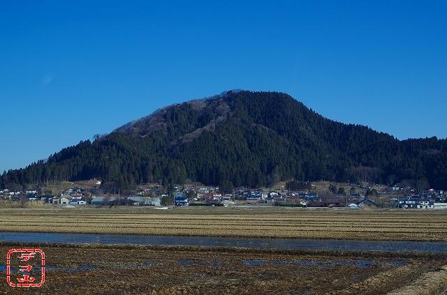 栄10 「鳥越山」 南秋田郡八郎潟...