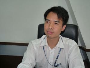 中国Tianma Micro-electronics Group社(天馬微電子集団) Jimmy Lu氏(Greater China Industrial, GCI1, Sales Manager)
