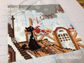 毛糸で刺すクロス2014-2
