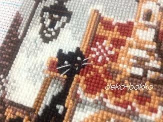 毛糸で刺すクロス2014-3