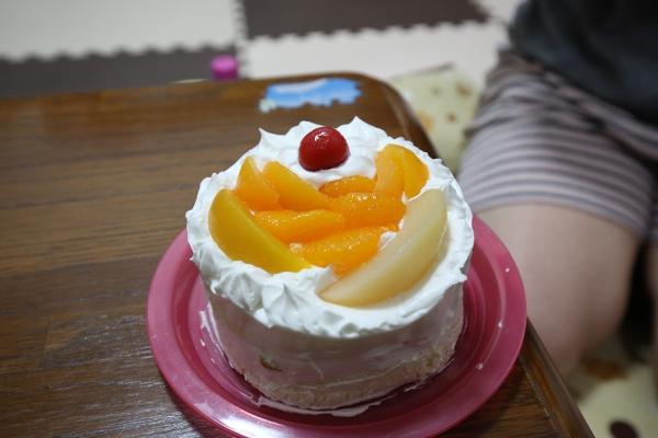 手作りケーキ、美味しかったよう。
