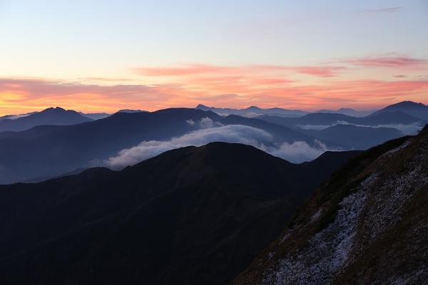 朝の平ヶ岳