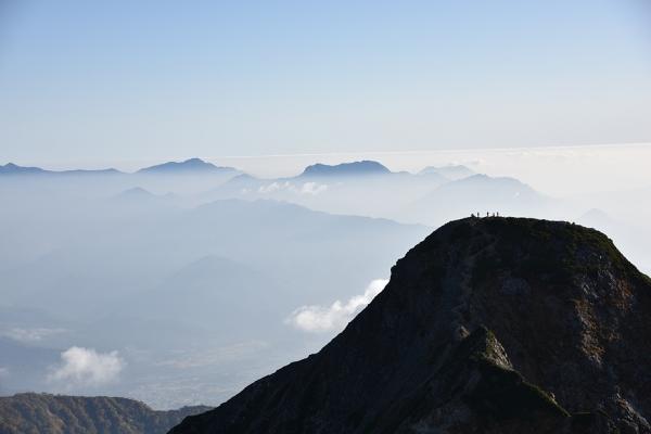北峰と北信の山