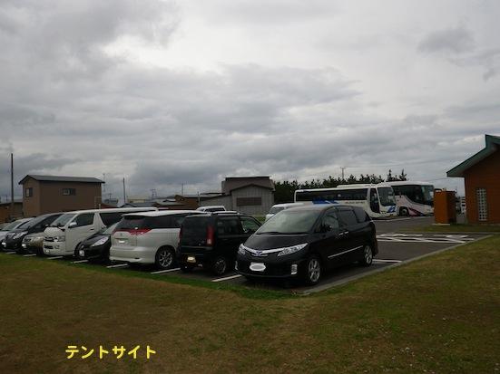 2013.9.30 大間崎駐車場