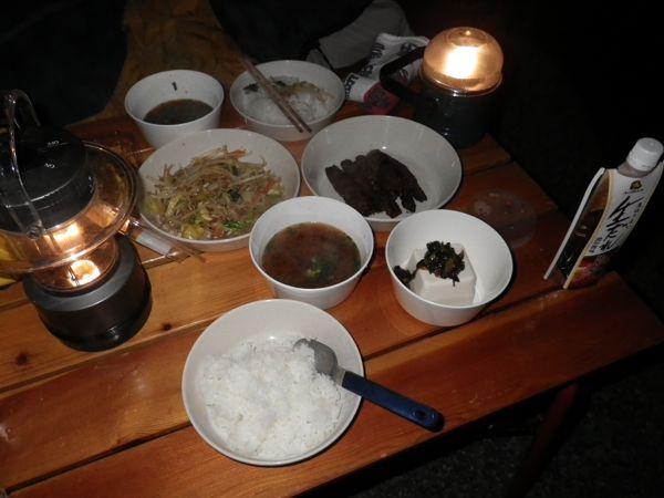 2013.11.2 夕食
