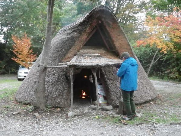 2013.11.3 竪穴式住居