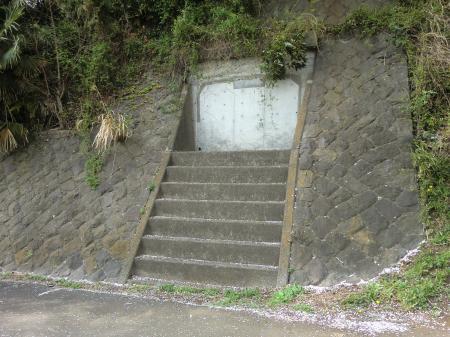 専用隧道上溝サイフォン流入口