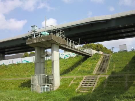 社家取水管理事務所排水施設・樋門