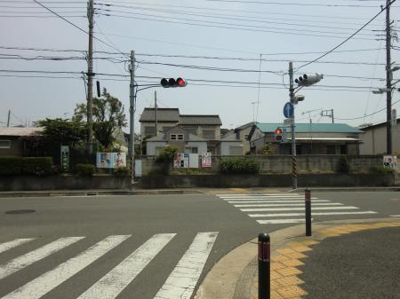 四ッ谷さくら橋・県道508号線交差点