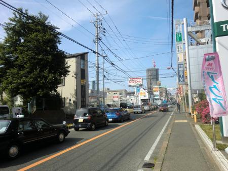 行幸道路(県道51号線)