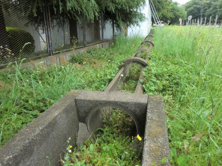 畑かん西幹線支線・南清掃工場付近