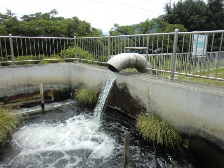谷ケ原浄水場・急速着水井