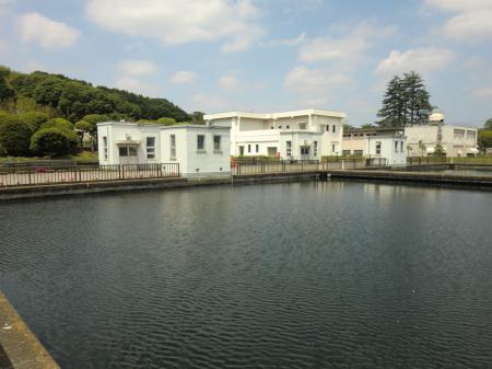 谷ケ原浄水場・緩速ろ過池