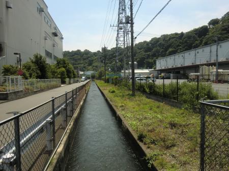 小沢幹線水路・愛川町小沢