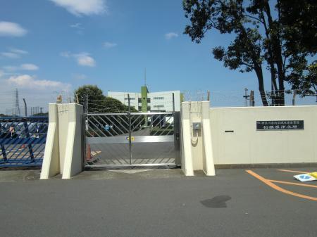 神奈川県内広域水道企業団・相模原浄水場正門