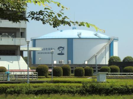 神奈川県内広域水道企業団・相模原浄水場PC調整池