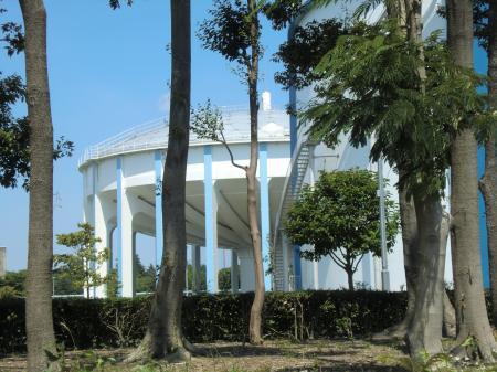 神奈川県内広域水道企業団・相模原浄水場高架調整池