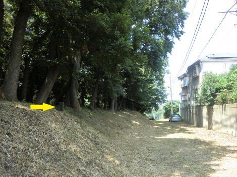 横須賀水道みち・藤沢市亀井野