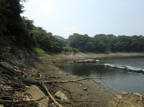 津久井湖・太井隧道付近