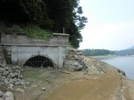横浜水道・太井隧道下口