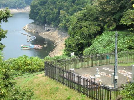 横浜水道第1接合井と太井隧道上口