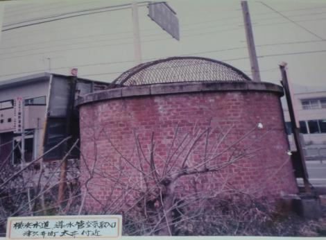 城山隧道・竪坑