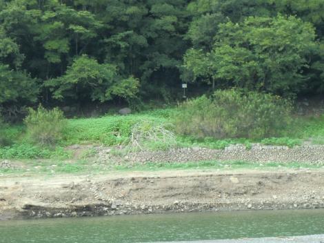 横浜水道三井用水取入所跡・沈澄池付近