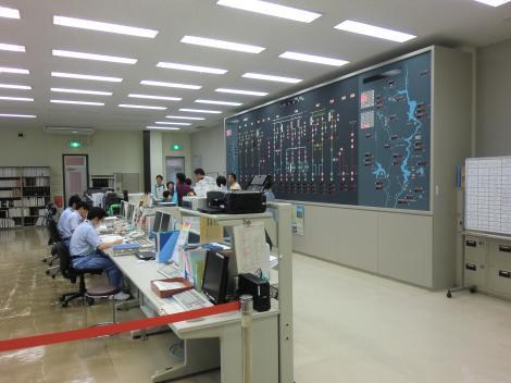 監視制御室