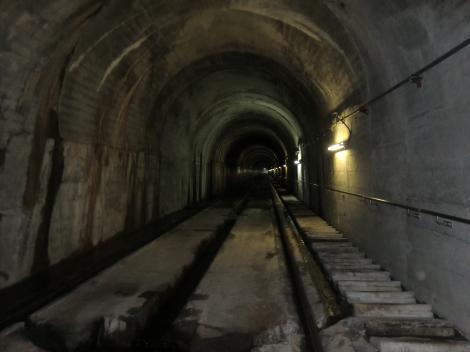 城山発電所・インクライン