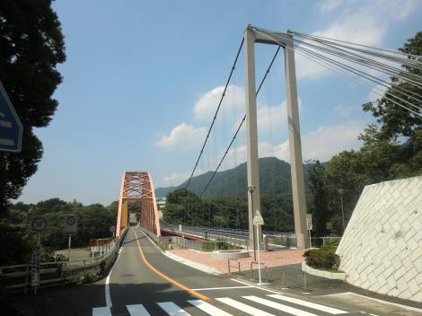 三井大橋と三井そよかぜ橋