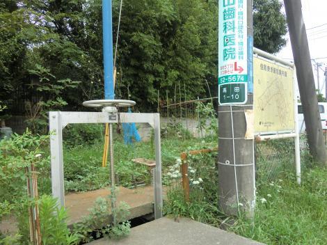 相模川左岸幹線用水路・高田サイフォン吐口