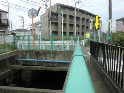 千ノ川と相模川左岸幹線用水路室田終点