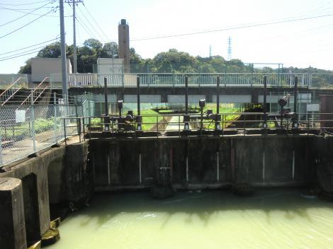 東電福沢第1発電所取水口