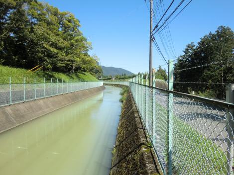 内山発電所導水路