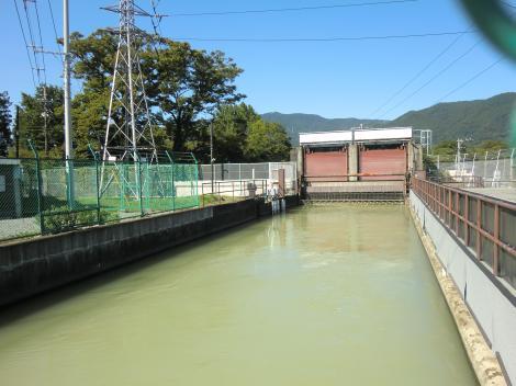 福沢第1発電所除塵機