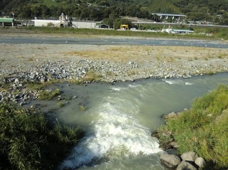 文命用水・酒匂川放流口