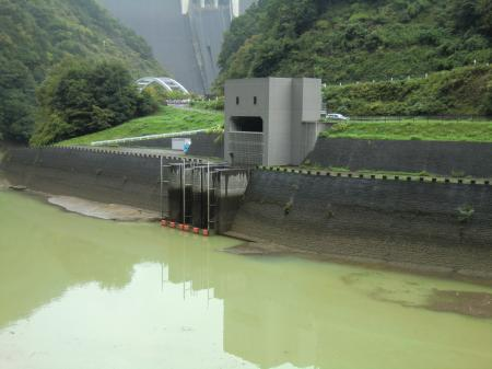 津久井導水路取水口