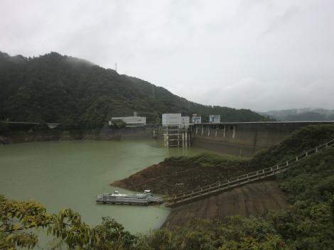 宮ヶ瀬ダム2013.9.25