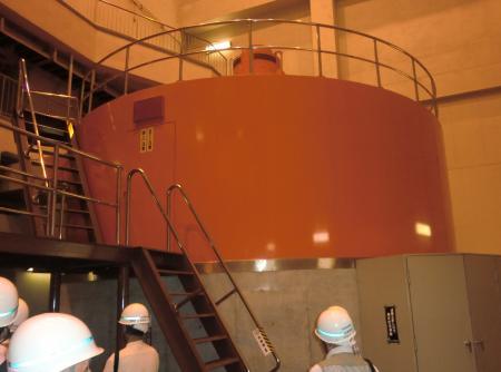 相模発電所・発電機