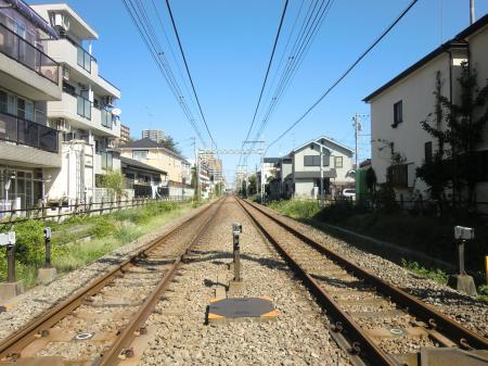 小田急線踏切座間市相模が丘2