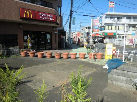 畑かん西幹線用水路呑口桝・さがみ野駅付近