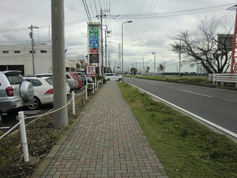 県道42号線・綾瀬市役所南