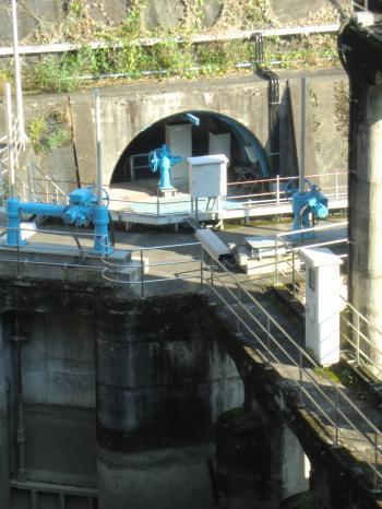 川崎水道取水口
