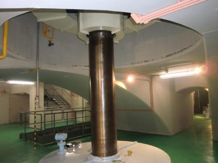 津久井発電所1号機主軸