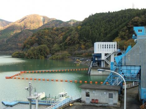 三保ダム・常用放流設備の取水設備