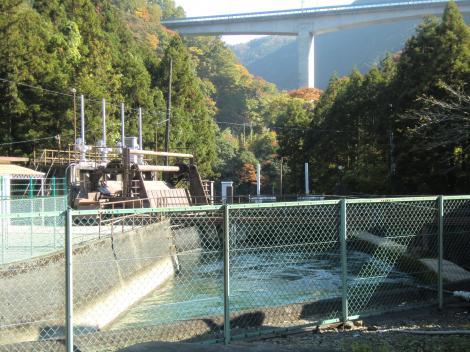 山北発電所導水路施設