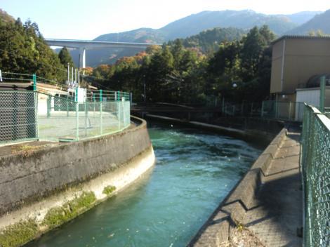 山北発電所導水路