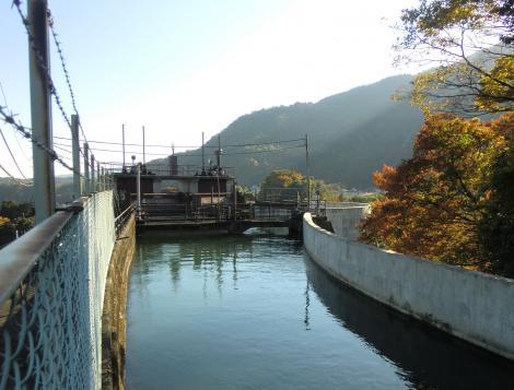 山北発電所上部調整池